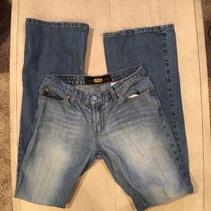 Todd Oldham Jeans vintage distressed size 7 long